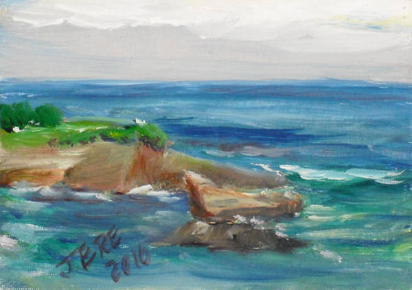 Painting - La Jolla Cove 061 by Jeremy McKay