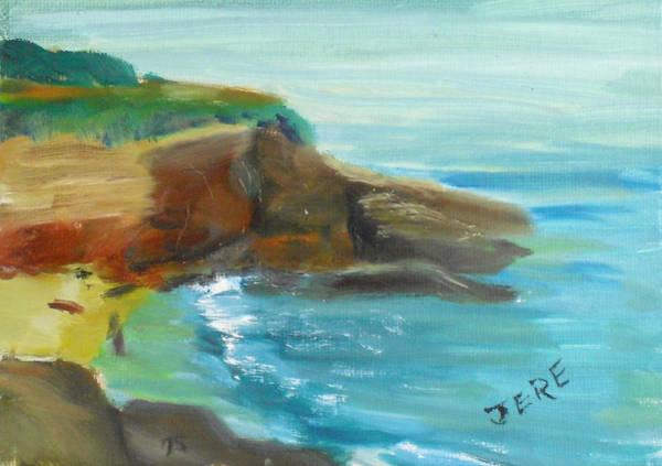 Painting - La Jolla Cove 071 by Jeremy McKay