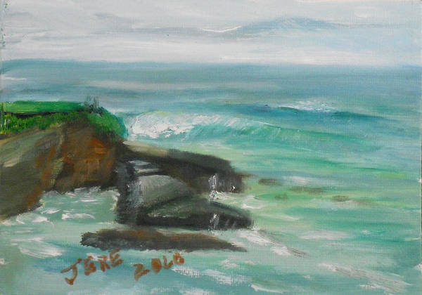 Painting - La Jolla Cove 074 by Jeremy McKay