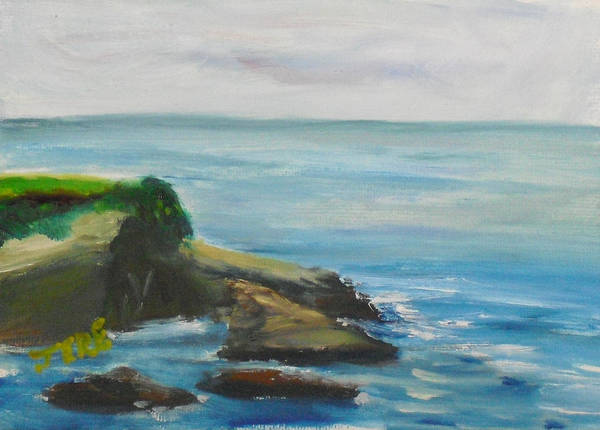 Painting - La Jolla Cove 078 by Jeremy McKay