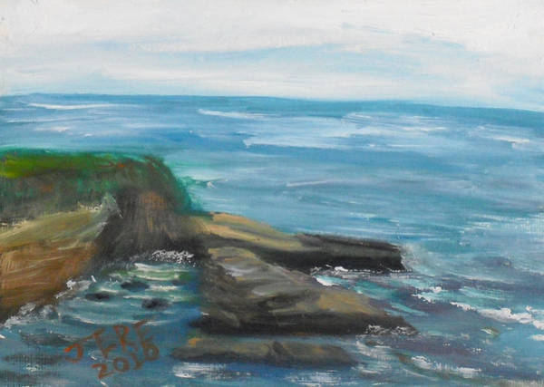 Painting - La Jolla Cove 079 by Jeremy McKay