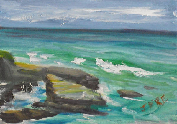 Painting - La Jolla Cove 080 by Jeremy McKay