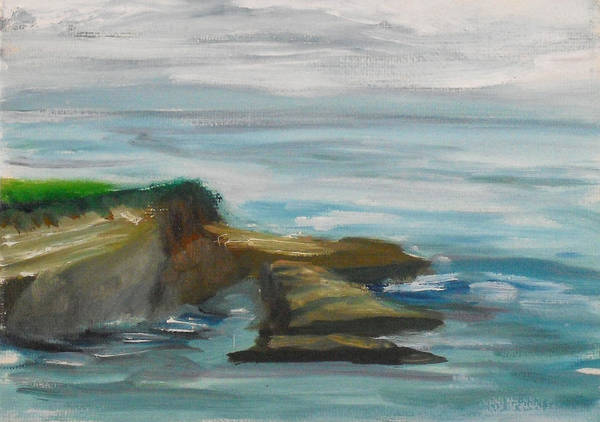 Painting - La Jolla Cove 083 by Jeremy McKay