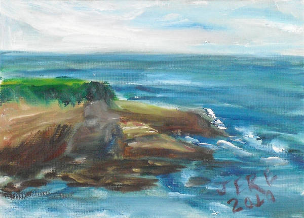 Painting - La Jolla Cove 086 by Jeremy McKay