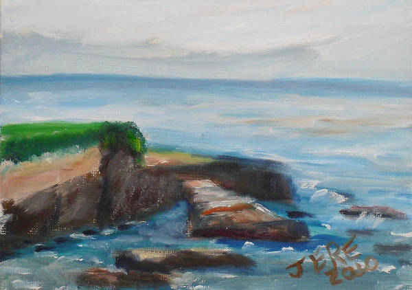 Painting - La Jolla Cove 087 by Jeremy McKay