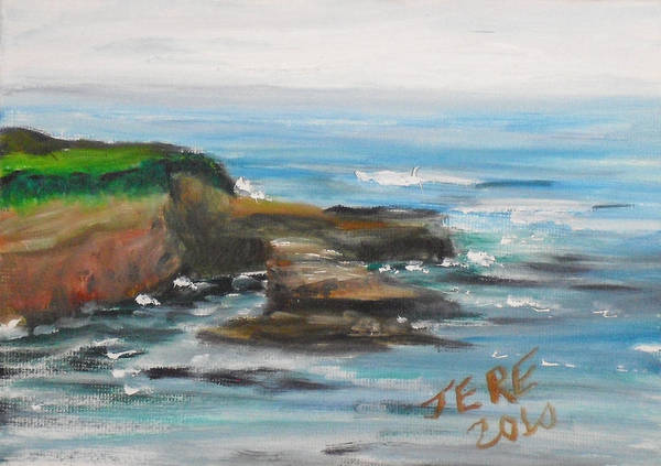 Painting - La Jolla Cove 088 by Jeremy McKay