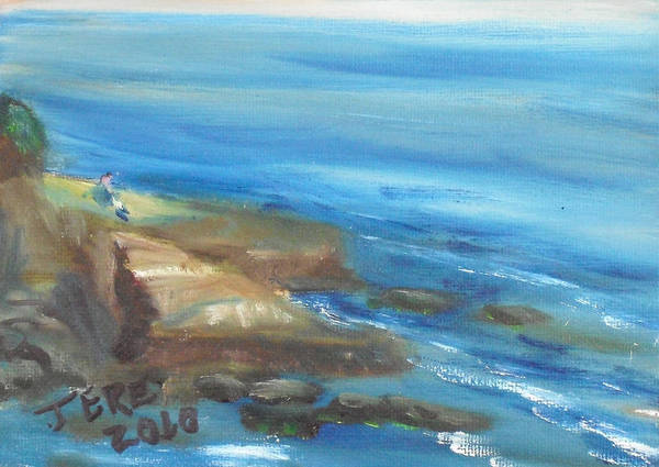 Painting - La Jolla Cove 089 by Jeremy McKay