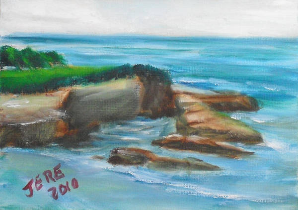 Painting - La Jolla Cove 094 by Jeremy McKay