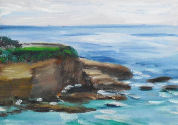 Painting - La Jolla Cove 095 by Jeremy McKay