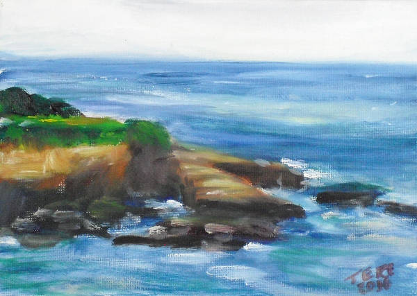 Painting - La Jolla Cove 096 by Jeremy McKay