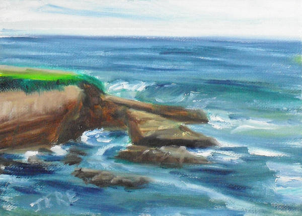 Painting - La Jolla Cove 097 by Jeremy McKay