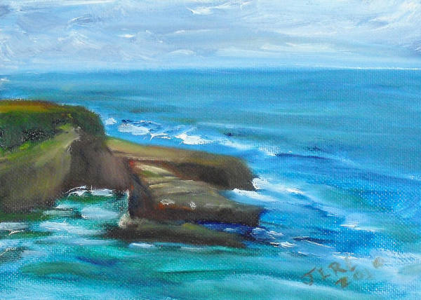 Painting - La Jolla Cove 099 by Jeremy McKay
