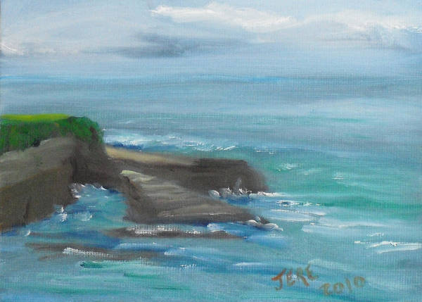 Painting - La Jolla Cove 100 by Jeremy McKay