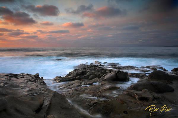 Photograph - La Jolla Sunset Afterglo by Rikk Flohr