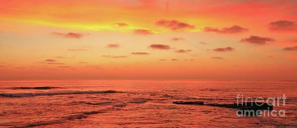 Photograph - La Jolla Sunset by John F Tsumas