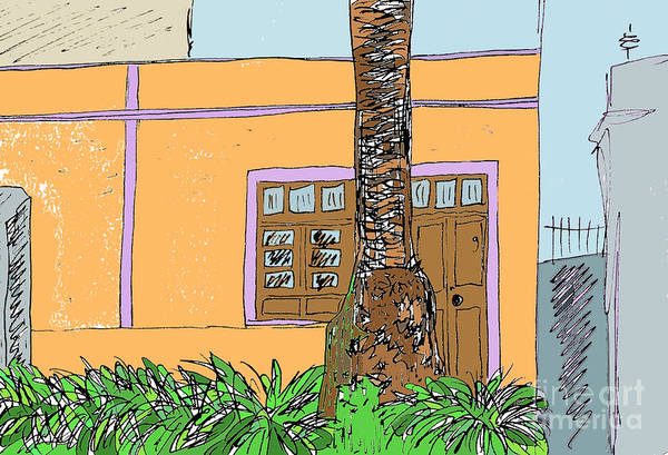 Digital Art - La Laguna Tenerife by Chani Demuijlder