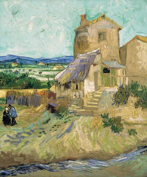 Painting - La Maison De La Crau The Old Mill by Artistic Panda