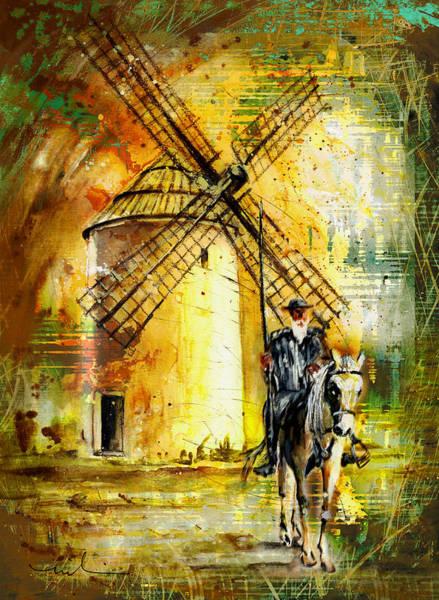 Painting - La Mancha Authentic Madness by Miki De Goodaboom