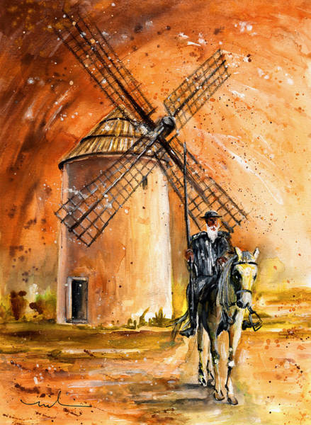 Castilla La Mancha Painting - La Mancha Authentic by Miki De Goodaboom