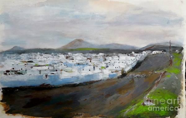 Painting - La Mancha Blanca by Karina Plachetka