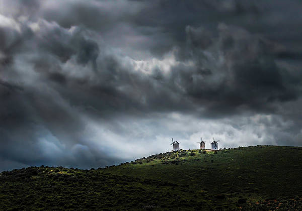 Photograph - La Mancha Spain by Gabriel Israel