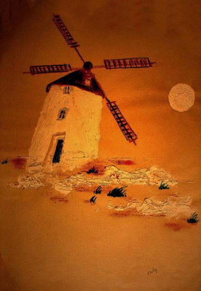 Pastel - La Mancha by Valerie Anne Kelly