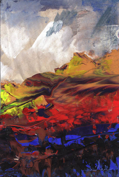 Painting - La Mer Rouge by Miki De Goodaboom