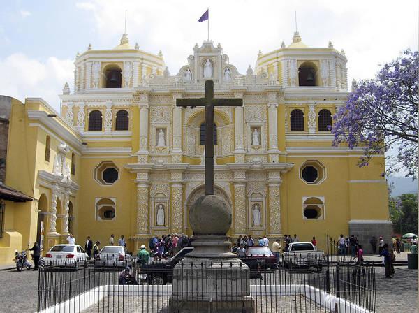 Photograph - La Merced Church II Antigua by Kurt Van Wagner