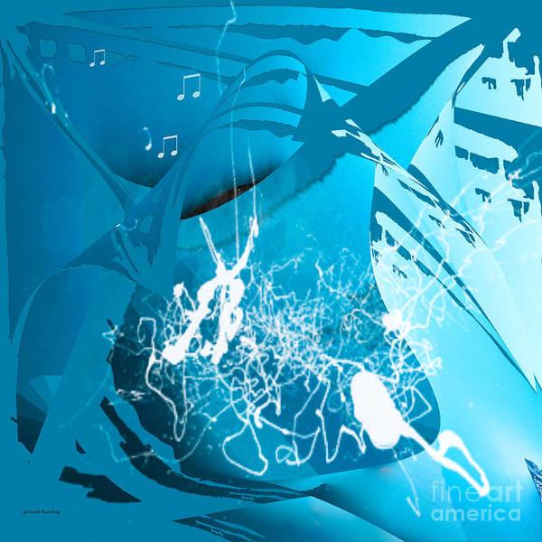 Digital Art - La Musica by Gerlinde Keating - Galleria GK Keating Associates Inc