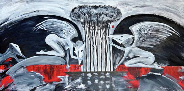 Painting - La Opcion by Lorenzo Muriedas