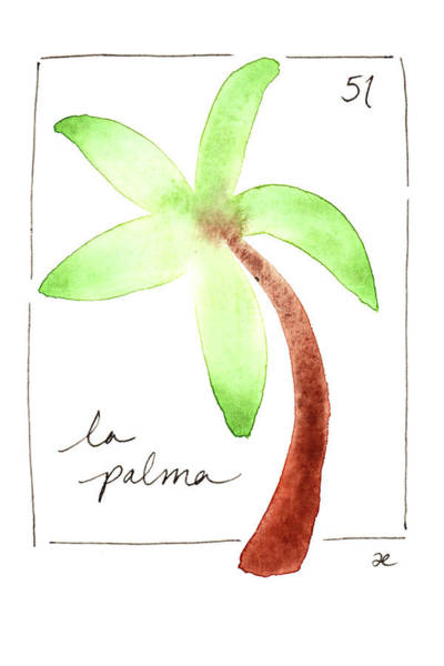 Painting - La Palma by Anna Elkins