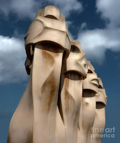 Photograph - La Pedrera By Gaudi In Barcelona Spain by Gregory Dyer