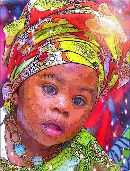 Digital Art - La Petit Royale by Karen Buford