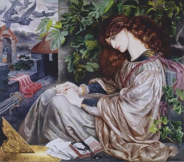 Painting - La Pia De Tolomei by Dante Gabriel Rossetti