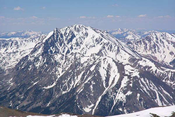 Wall Art - Photograph - La Plata Peak From Mt. Elbert by Aaron Spong