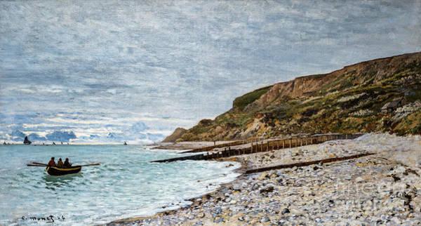 Painting - La Point De La Heve, Sainte Adresse By Monet by Claude Monet