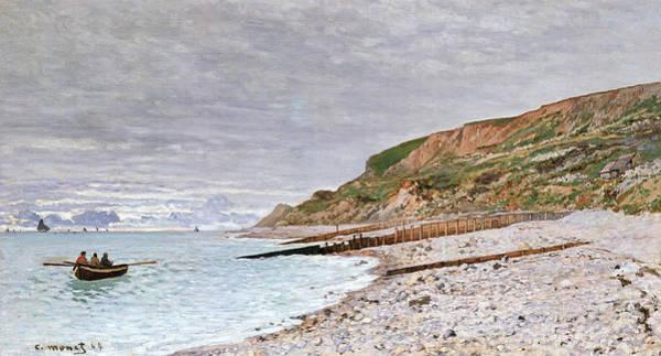 Pointe Wall Art - Painting - La Pointe De La Heve by Claude Monet