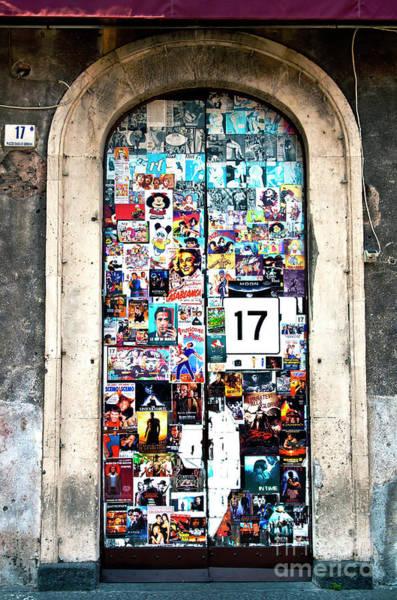 Photograph - La Porta Al Piazza Di Genova A Catania by Silva Wischeropp