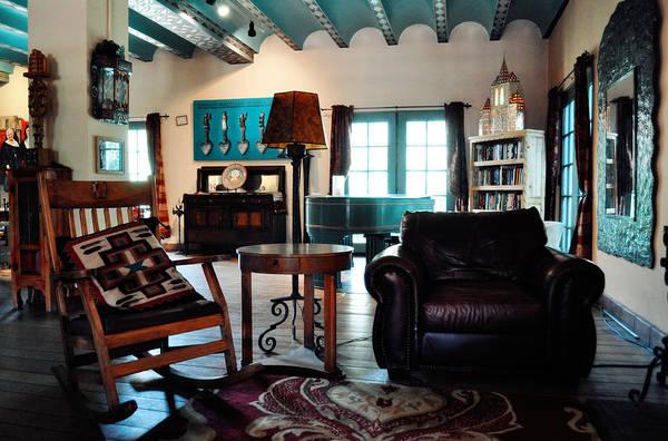 Photograph - La Posada Historic Hotel Great Room by Kyle Hanson