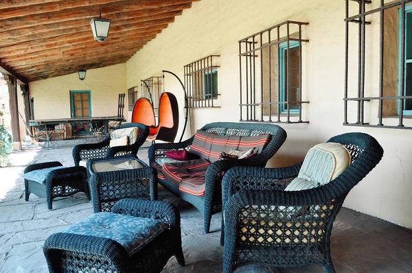 Photograph - La Posada Historic Hotel Veranda by Kyle Hanson