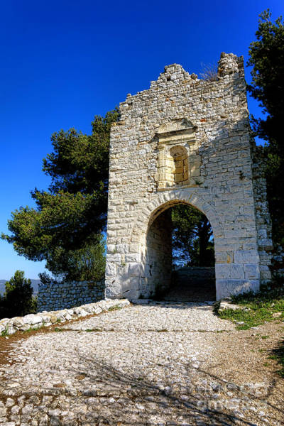Village Gate Photograph - La Poterne In Allauch by Olivier Le Queinec
