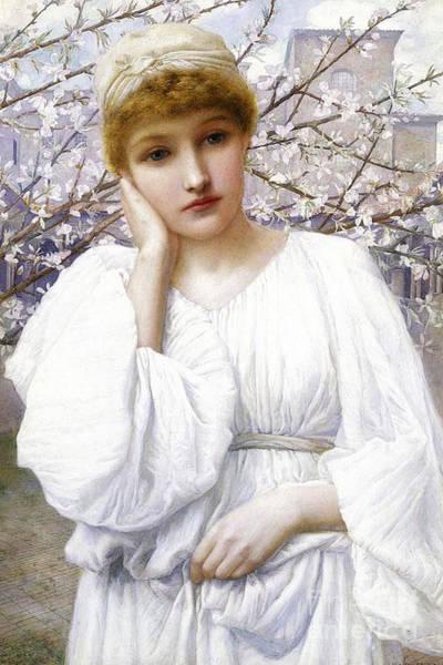 Primavera Painting - La Primavera by MotionAge Designs