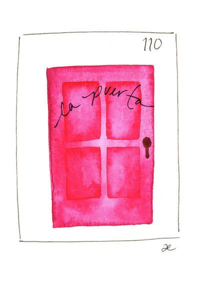 Painting - La Puerta by Anna Elkins