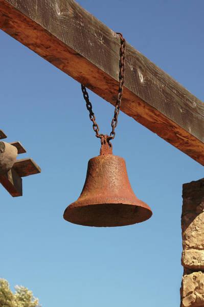 La Purisima Mission Photograph - La Purisima Mission Bell by Art Block Collections