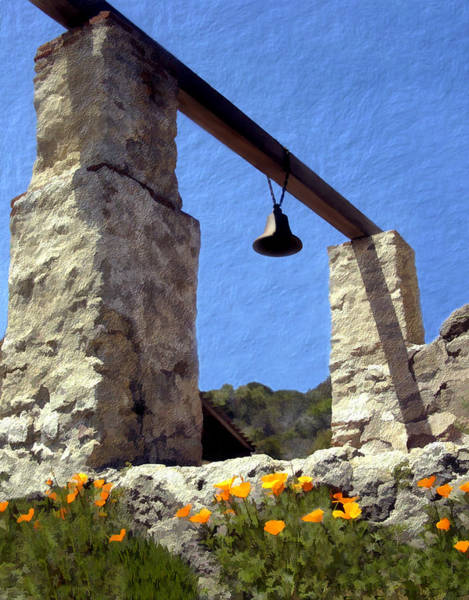 Photograph - La Purisima Mission Bell Tower by Kurt Van Wagner