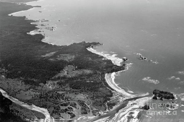 Photograph - La Push, James Island, Quillayute River,  Washington Circa 1950 by California Views Archives Mr Pat Hathaway Archives