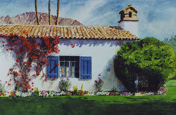 Painting - La Quinta Casita by Tyler Ryder