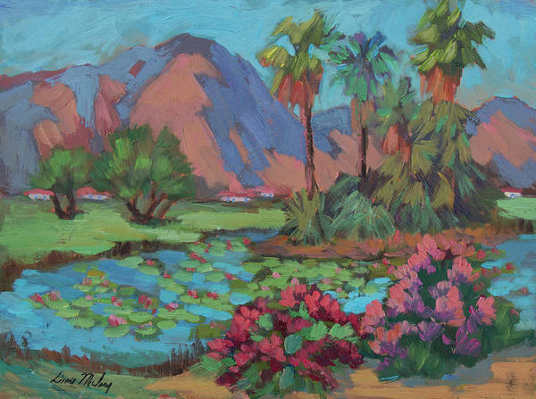 Wall Art - Painting - La Quinta Estates by Diane McClary