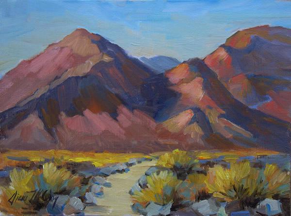La Quinta Wall Art - Painting - La Quinta Trails by Diane McClary