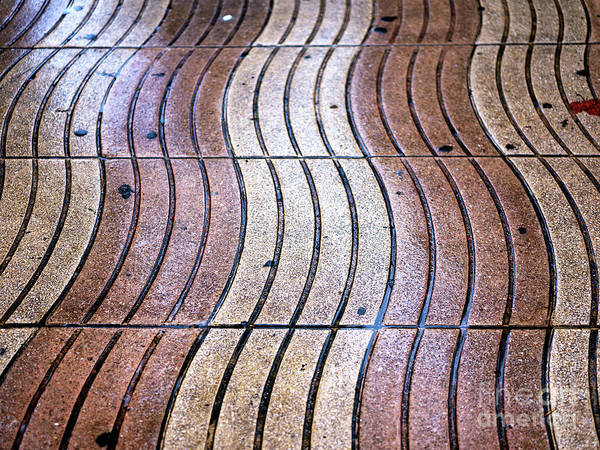 Wall Art - Photograph - La Rambla Lines In Barcelona by John Rizzuto